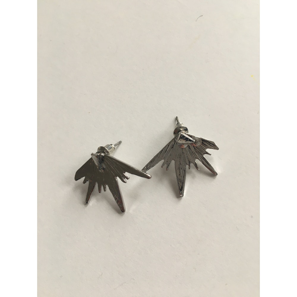 One of a Kind Club Silver Expression Earrings
