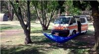 Kick back in the shade hot tip from Halls Gap campers when  Summer comes to  stay