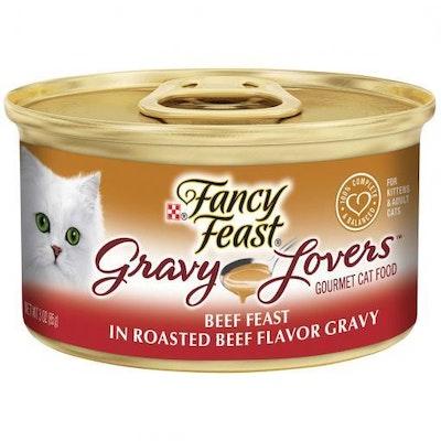 Fancy Feast Gravy Lovers Beef Feast
