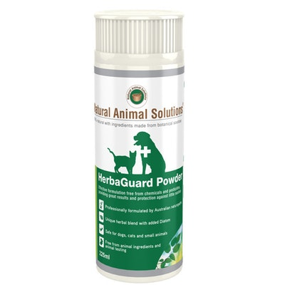 Natural Animal Solutions Nas Herbaguard Powder Animal Flea Control 225ml