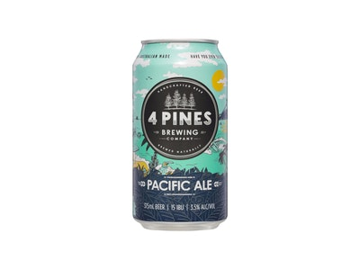 4 Pines Pacific Ale Can 375mL