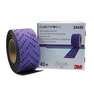 3M Clean Sanding Sheet Roll 40+, 70mm - 34440