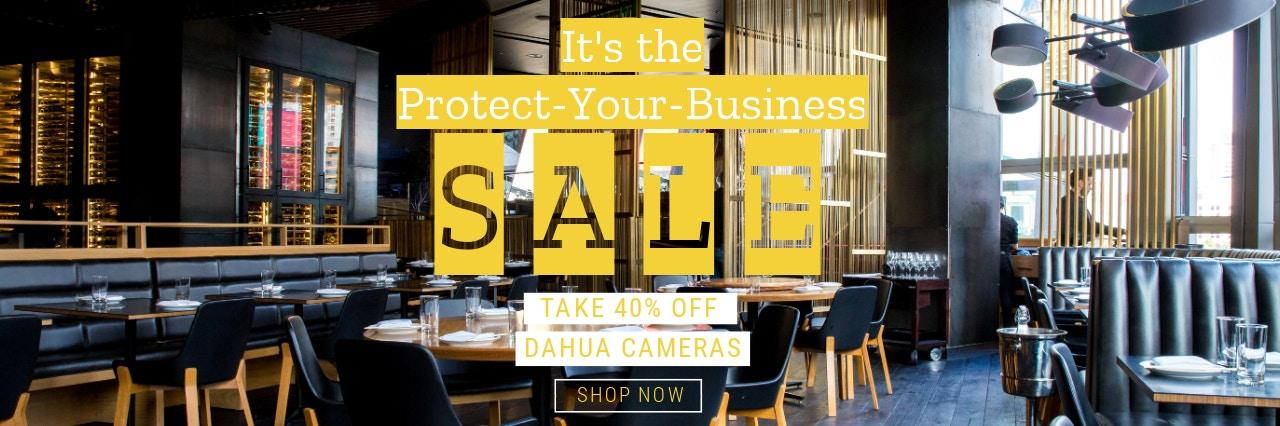 40% off Dahua cameras from Stan Wootton Locksmiths