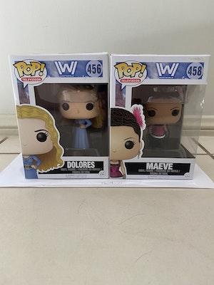 Westworld #458 Maeve and #456 Dolores Pop Set