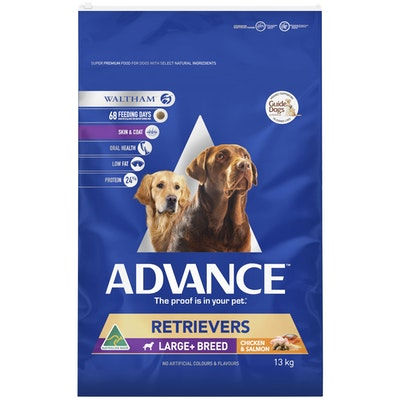 Advance Adult Large Breed Retriever Dry Dog Food Chicken And Salmon