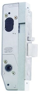 """Lockwood Selector 6782SS 38mm narrow mortice lock """"Body Only"""" in stainless steel finish"""