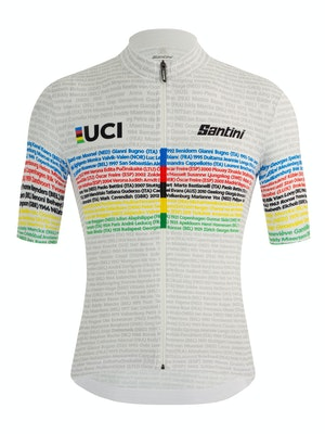 Santini UCI Road World Championships Centenary Celebration Jersey