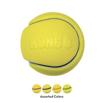 KONG Squeezz Tennis Ball Asstd Medium