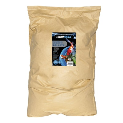 PondMax Fish Food Pellets 6mm 15kg