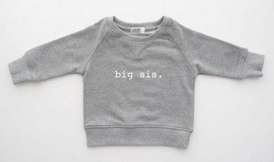 Big Sis Sweater - Grey