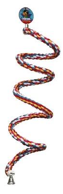 Cheeky Bird Spiral Rope Perch 240cm B0888