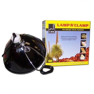 URS Lamp N Clamp Reptile Reflector Lamp - 2 Sizes