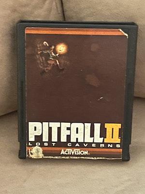 Atari 2600 Pitfall 2 Lost Caverns Cart