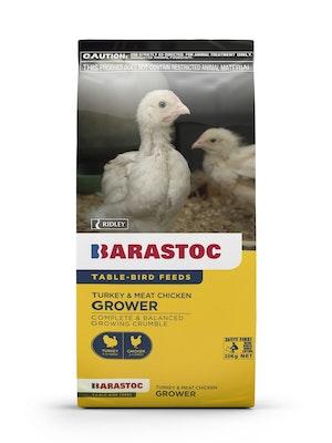 Barastoc Turkey & Meat Chicken Grower Crumble Feed 20kg
