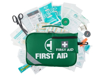 Boutique Medical 2-in-1 258PCS PREMIUM FIRST AID KIT Medical Travel Set Emergency Family Safety Office