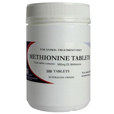 Mavlab Methionine Dogs Detoxification Amino Acid Supplement Tabs 500mg 500 Pack