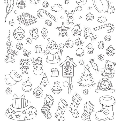 Christmas - Free Colouring-in Sheet
