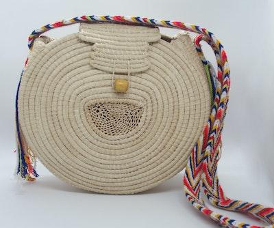 Continente Dorado Iraca Fusion Crossbody Bag