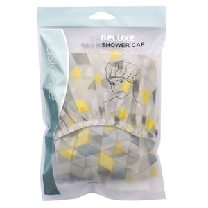 Basic Care Deluxe Shower Cap Diamond One Size Fits All