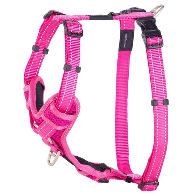 Rogz Control Harness Pink