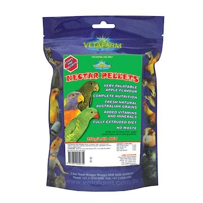 Vetafarm Nectar Pellets Lorikeet Food Low Sugar Diet - 3 Sizes
