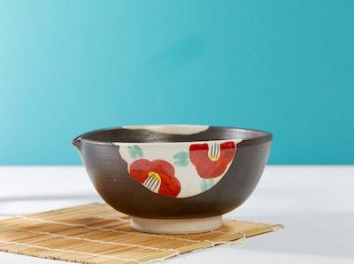 Cooking with Koji Ceramic cooking bowl with wooden stick (Suribachi & Surikogi)