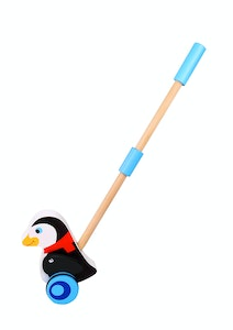 Tooky Toy PUSH ALONG - PENGUIN