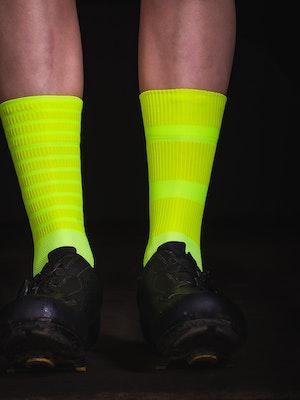 TIC CC bloc socks Mono yellow