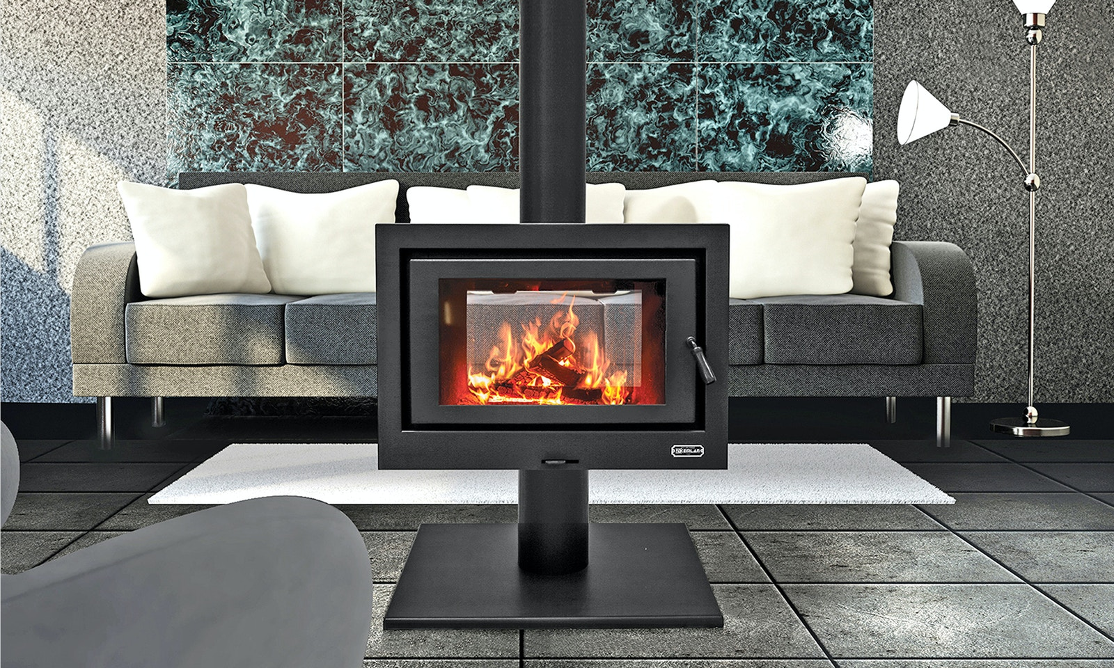 An Australian Fireplace for Australian Conditions