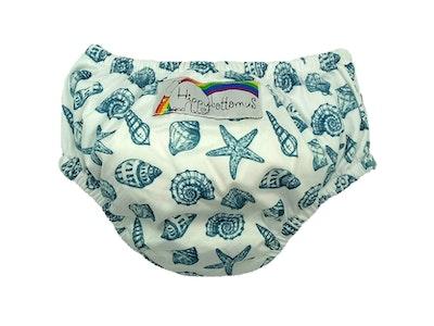 Hippybottomus Swim Nappy - Sea Shells