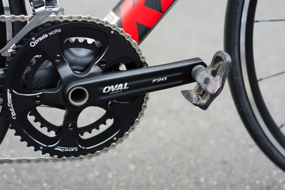 Kestrel Legend   Oval crankset