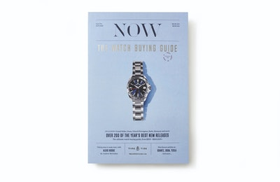Time+Tide Watches  NOW - The Watch Buying Guide by Time+Tide - Issue 2