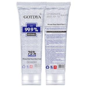 Hand Sanitiser Gel 80ml - 75% Alcohol - GOTDYA carton special