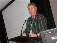 Geoff Olholm  talks park planning at VicParks Torquay Conference