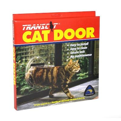 Transcat Cat Door - Clear (Glass Insert)