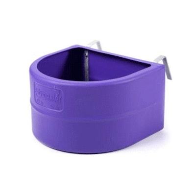 Polymaster Fence Feeder - Purple 32 litre
