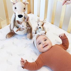 Babyhood Aussie Collection Large Kangaroo Toy