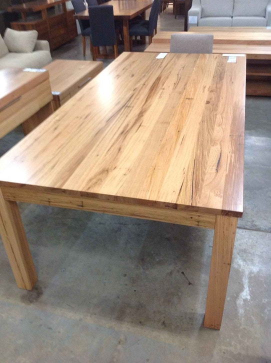 Furniture Liquidation Store 2400mm Messmate Dining Table