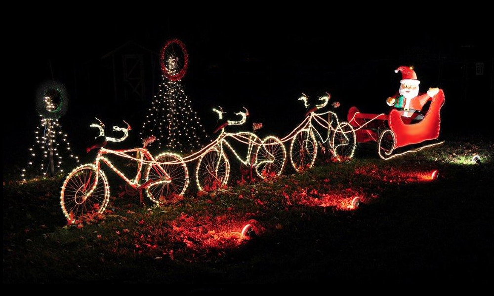 7 Reasons to get Pedalling at Christmas