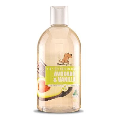 Smiley Dog 2 In 1 - Avocado & Vanilla Shampoo