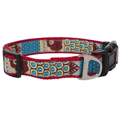 Hamish McBeth Red Swimmable Dog Collar