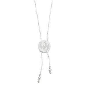 Breeze Horseshoe Lariat Necklace