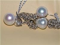 Paspaley pearl pendant and matching earings