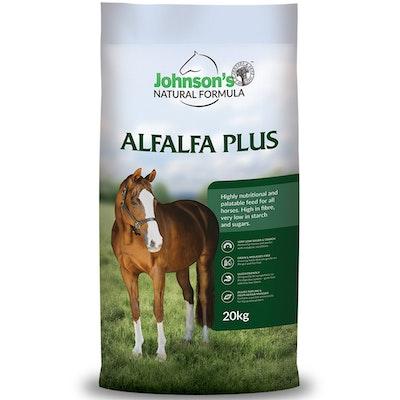 Johnson''s Johnsons Alfalfa Plus Natural Formula Pelleted Feed 20kg