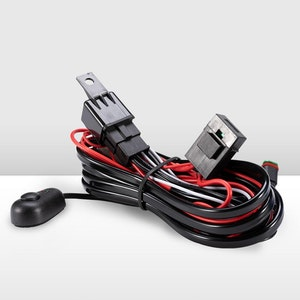 Led Hid Wiring Loom Harness with DT Plug