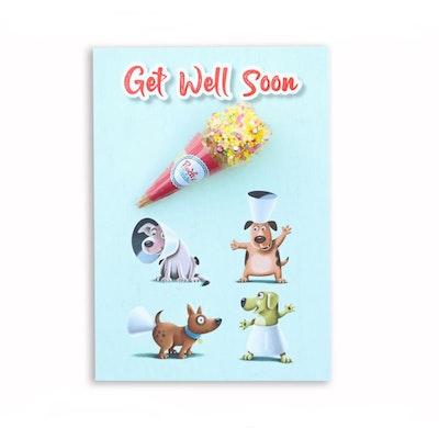 Pooch Treats Get Well Soon Gift Card