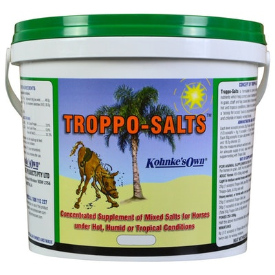 Kohnkes Own Troppo Salts Concentrated Mixed Salt Horse Supplement - 3 Sizes