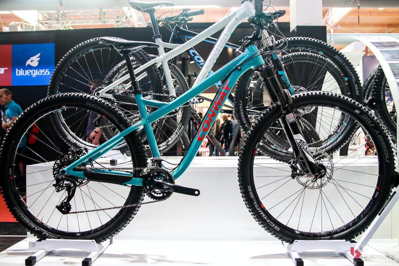 Conway Mountainbikes 2017 mit neuem Trail-Hardtail und WME Fullys