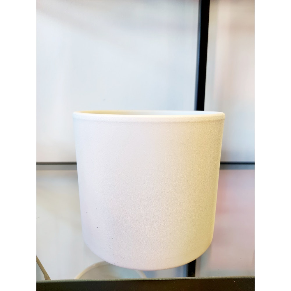 Pretty Cactus Plants  12cm Ceramic Bari Planter - White - D12 X H 12cm - Perfect For Houseplant In 10cm Or Smaller