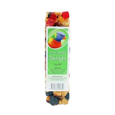 PASSWELL Avian Delight Bird Seed Treat Bar Lorikeet 75g 24 Pack